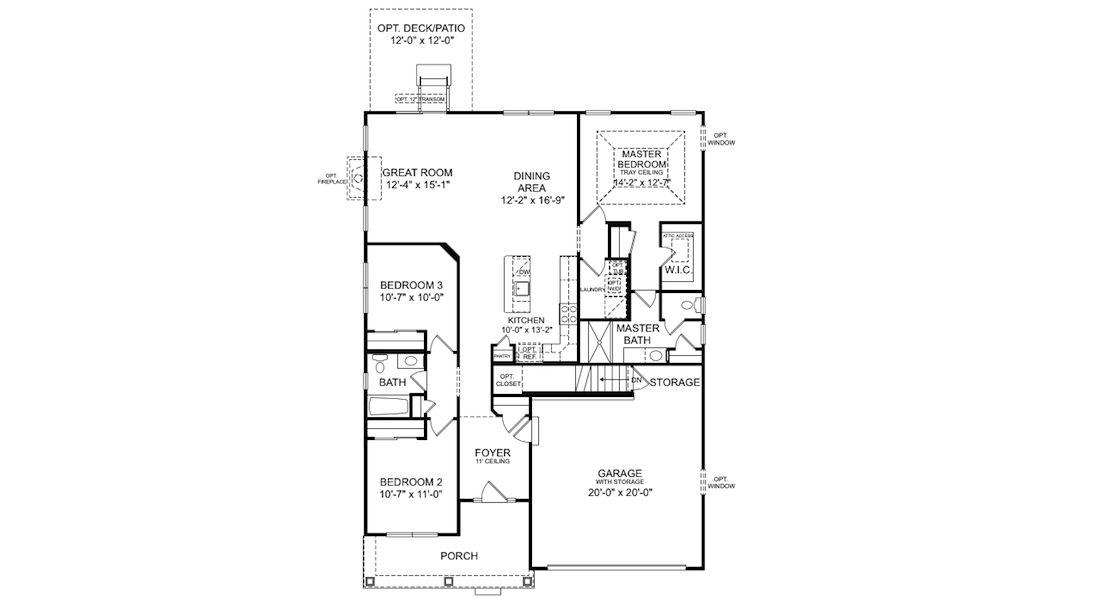 Old Centex Homes Floor Plans: Old Ryan Home Floor Plans